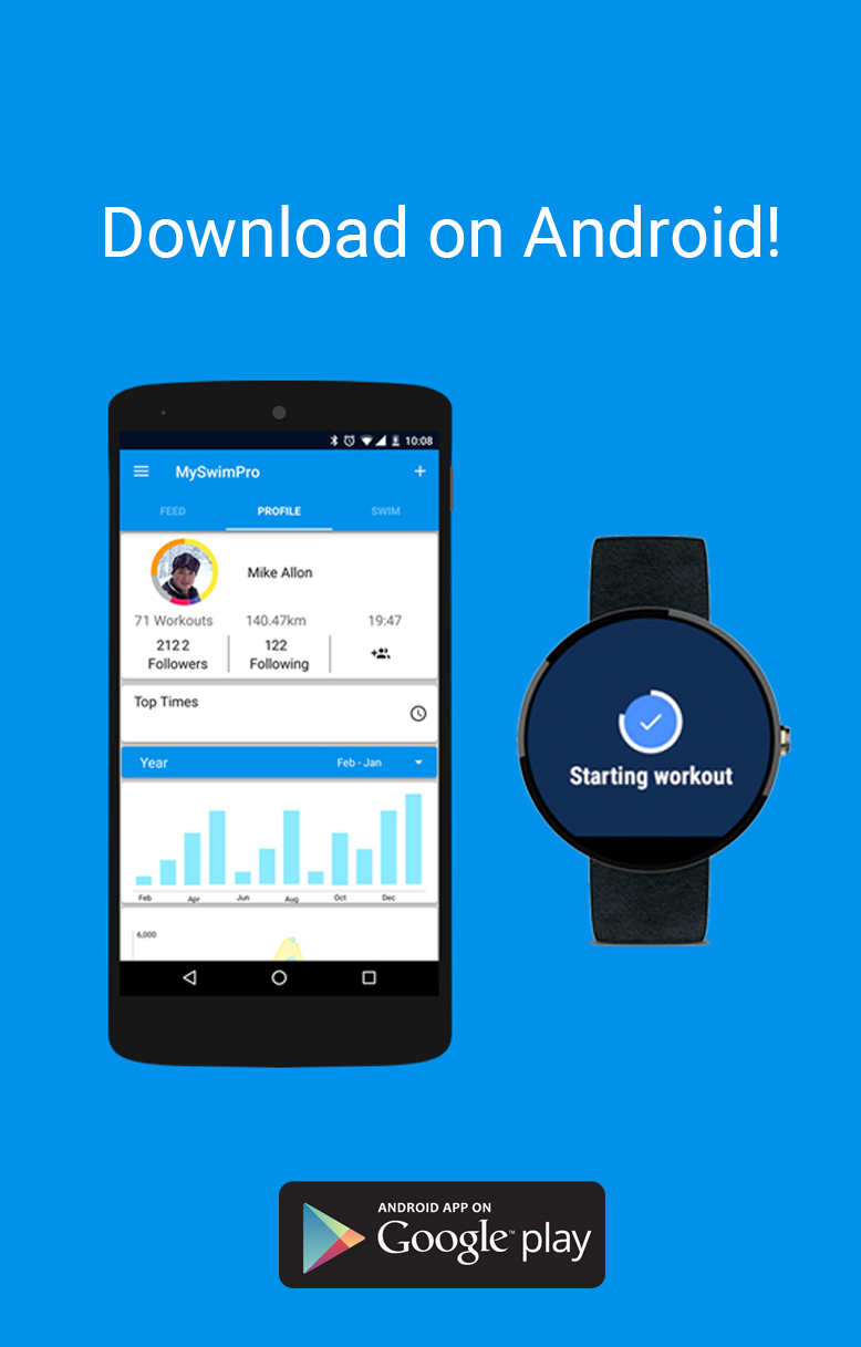 MySwimPro Android Wear 2 0 App - MySwimPro