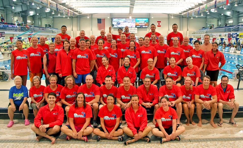 Masters swim team