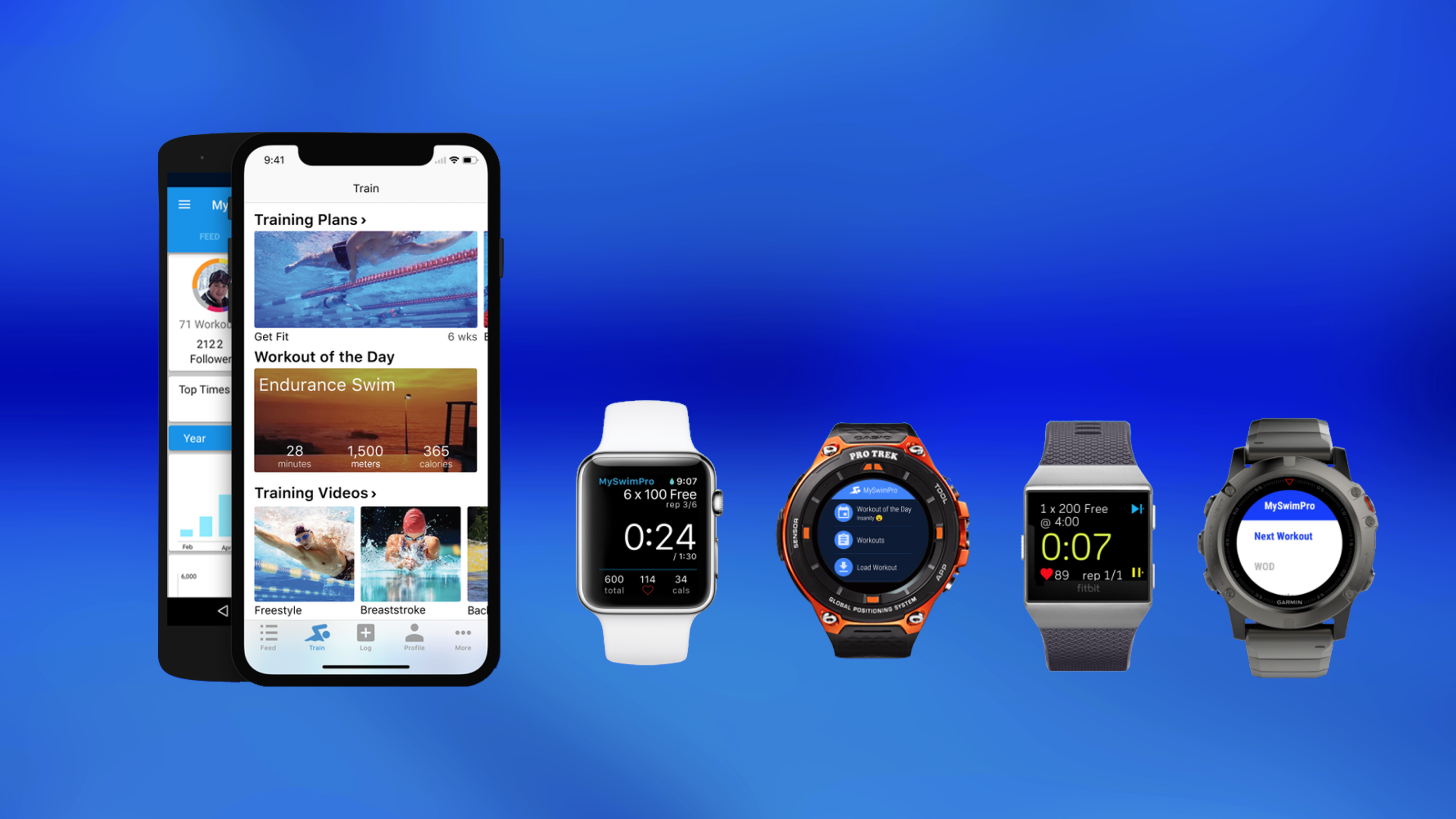 Compatible Smartwatches for the MySwimPro App - MySwimPro