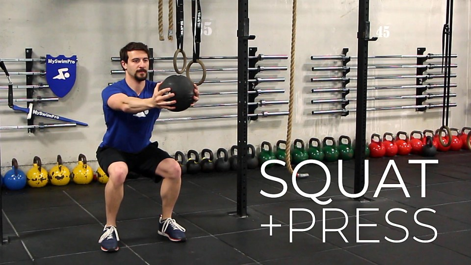 Squat and press