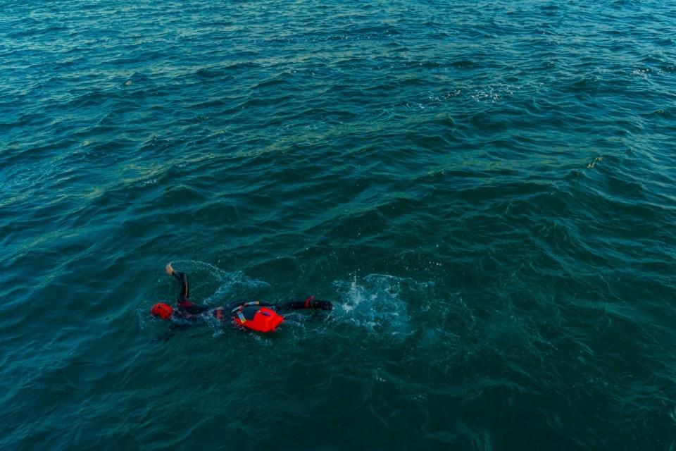 Michelle Rogalski open water