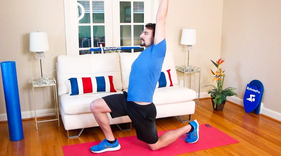 Hip Flexor Stretch Dryland