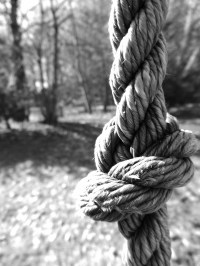 Monochrome rope