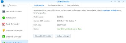 DSM 5.0-4493 Update 7