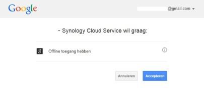 toestemming Google
