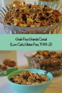 Grain Free Granola Cereal