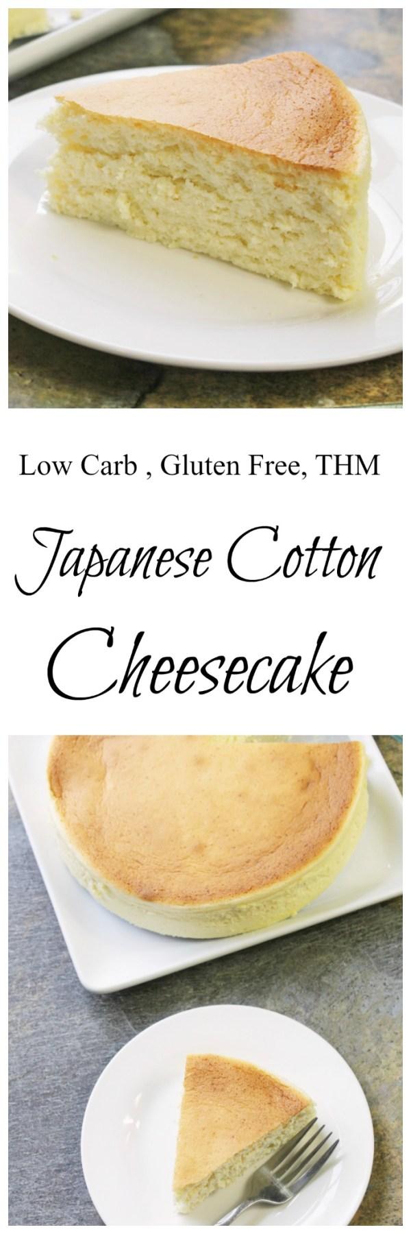 "Japanese ""Cotton"" Cheesecake || Low Carb, Sugar Free, THM, Gluten Free, Keto"