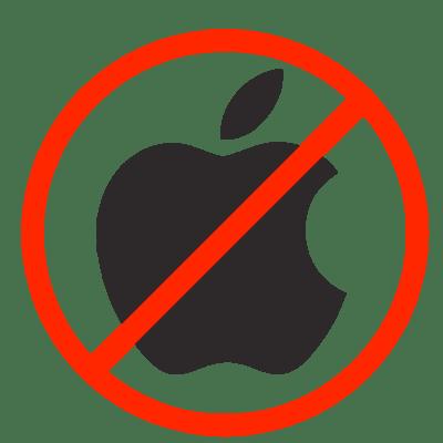 Resultado de imagen para apple no