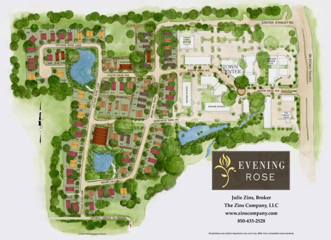 siteplan-evening-rose