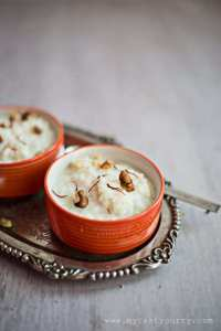 Rice Kheer Recipe or Chawal ki Kheer | Dessert with Goodness of Almonds
