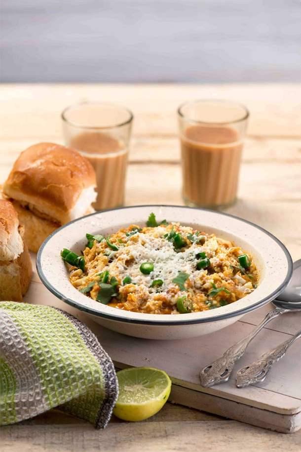 Mumbai egg bhurji gravy