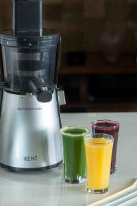 Three Delicious Juice Recipes with Kent Cold Pressed Juicer