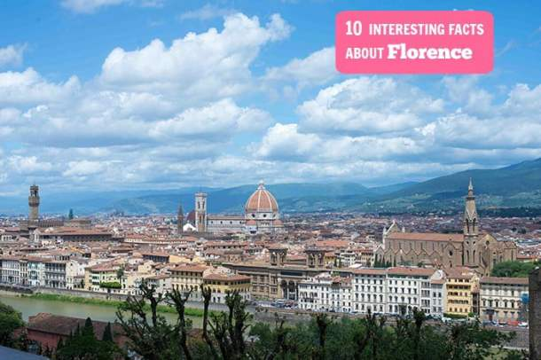 Interesting Facts About Florence Italy Travel Fun Facts My - 10 interesting facts about italy