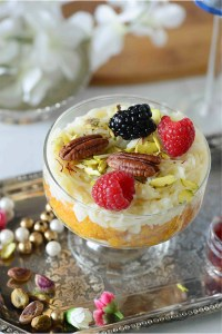 Laddu and Kheer Nutty Fruity Cups