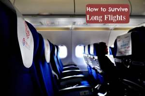 Make Your Long Flight Experience Comfortable! Here's How