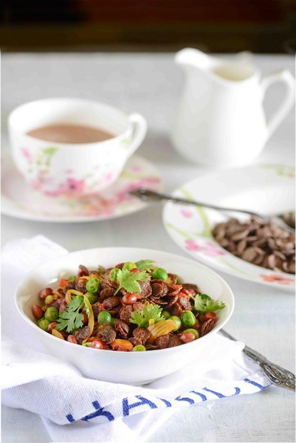 Organic ragi flakes upma healthy indian breakfast my tasty curry ragi flakes upma forumfinder Gallery