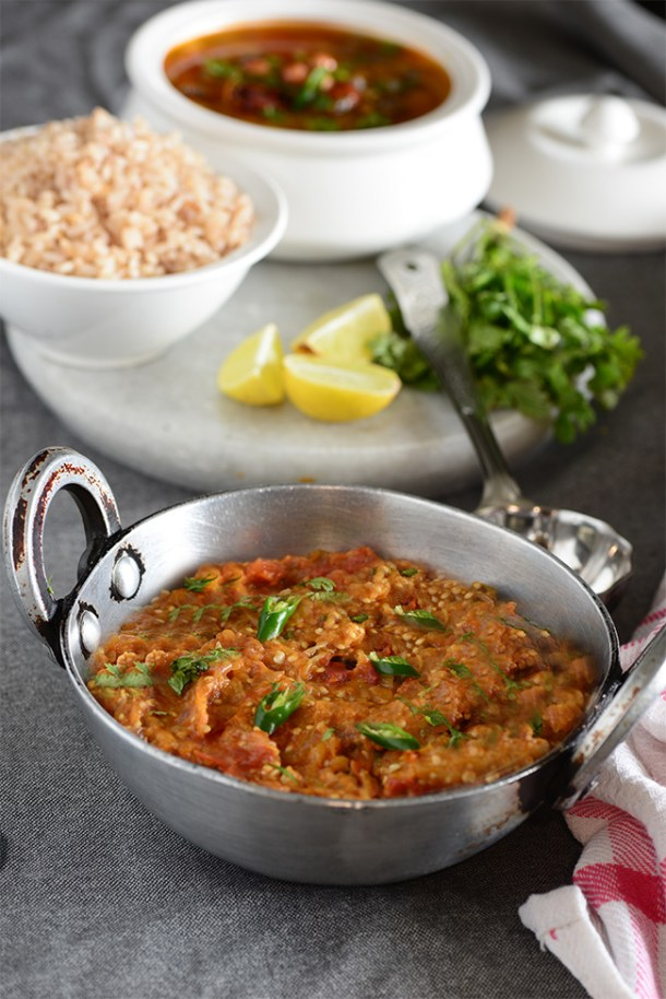 Baingan Bharta Punjabi Authentic Recipe
