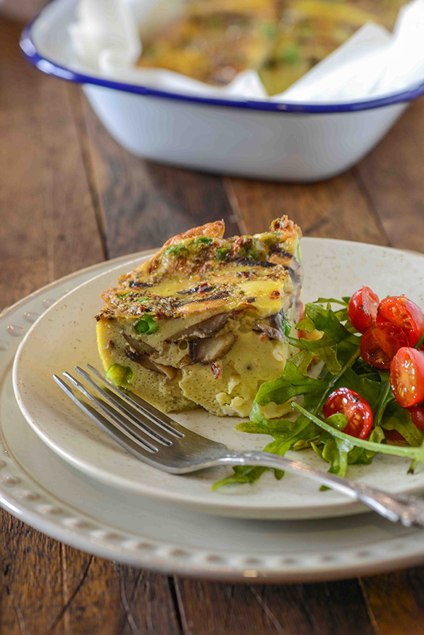 Frittata is Italian egg casserole dish that is easy to make and quick cooking. Perfectly healthy one pan meal and best thing you can serve it at breakfast, lunch, dinner or brunch. So if love eggs, you can rely on this one dish when you want a quick and delicious meal. I have shared my tips and tricks to make perfect frittata each time.