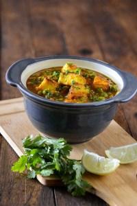 Matar Paneer Curry Recipe – Punjabi style Matar Paneer Sabzi
