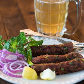 Vegetarian seekh kabab is delicious and healthy Indian starter recipe perfect for the party or as a snack. Easy and tasty recipe of Vegetarian seekh Kabab
