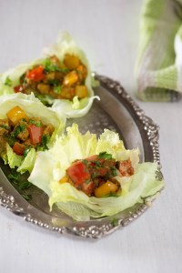 Lettuce Tofu Wraps – Spicy Tofu wraps