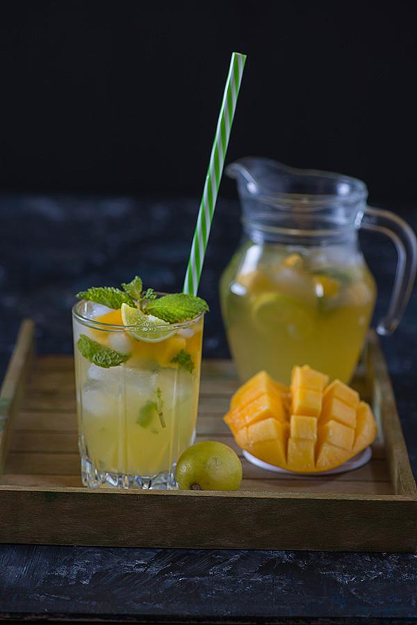 Mango ginger Mojito