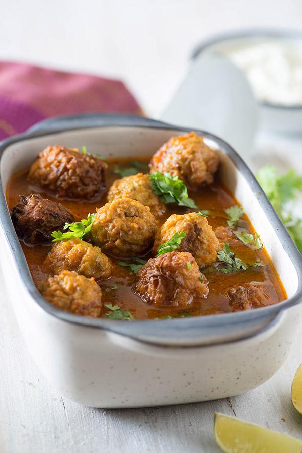 Lauki Kofta Recipe - How to Make Lauki Kofta - My Tasty Curry