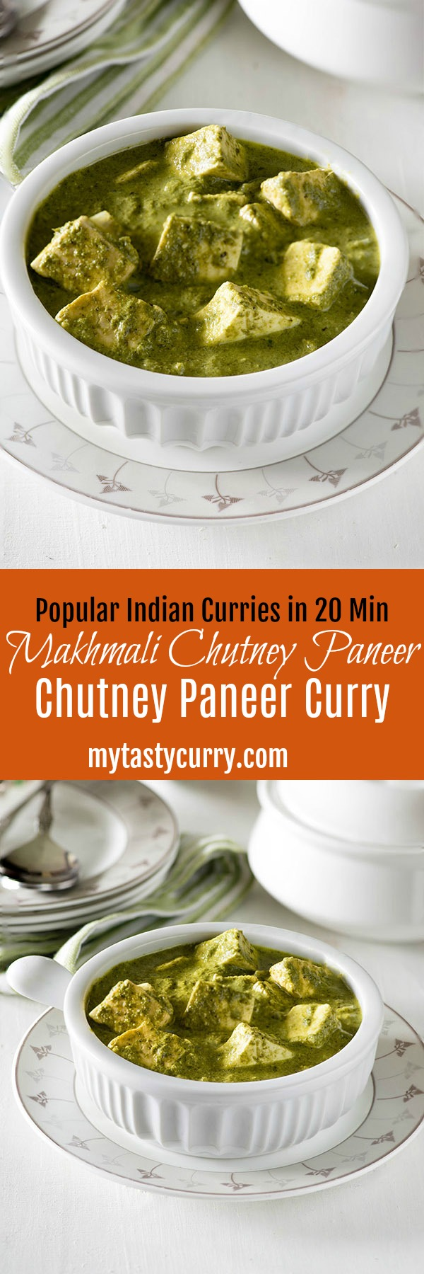 Makhmali Paneer curry is a spicy and aromatic quick paneer dish with a vibrant color and bold flavors. This popular Indian curry takes only 20 minutes to cook and is high on flavor. One of the quickest Paneer curry to serve with Paratha and Naan