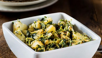Mixed vegetable sabzi recipe home style simple curry my tasty curry sukhi aloo methi sabzi recipe potato and fenugreek dry curry forumfinder Image collections