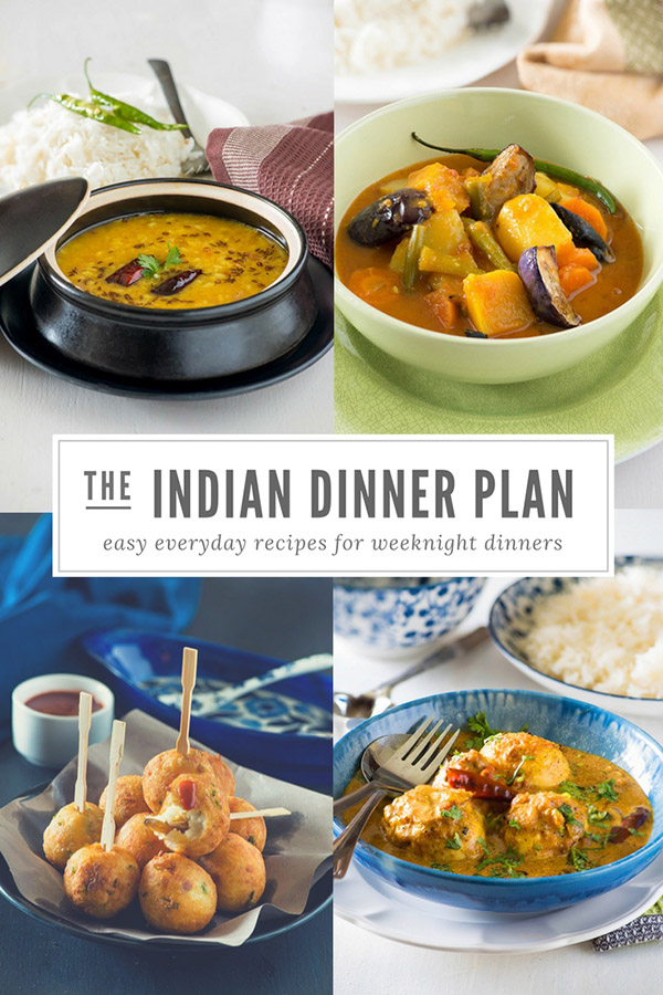 Indian Meal Plan Week 5 - Indian Dinner Plan for Week