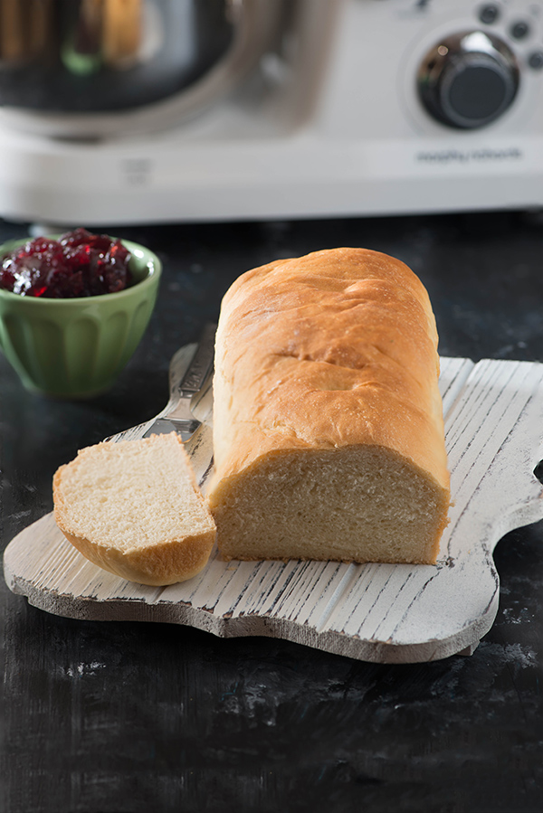 No fail Basic sandwich bread recipe using stand mixer in India