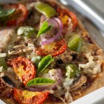 Whole wheat Pizza recipe from scratch, healthy, super easy and pizza perfect crust all in one. If you need a fail proof recipe that tastes good, I suggest you must try it. Hopefully this will be a good balance of choosing between all white flour or all wheat flour crust.