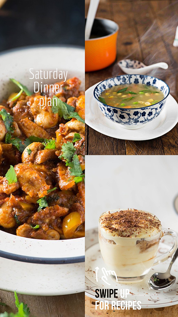everyday Indian meal plan for week