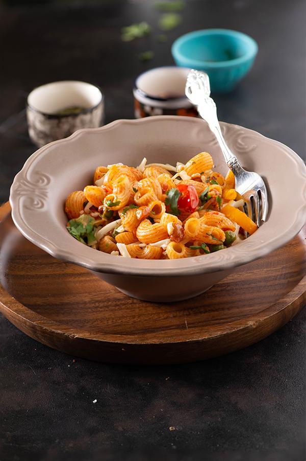 Macaroni recipe - Indian style pasta