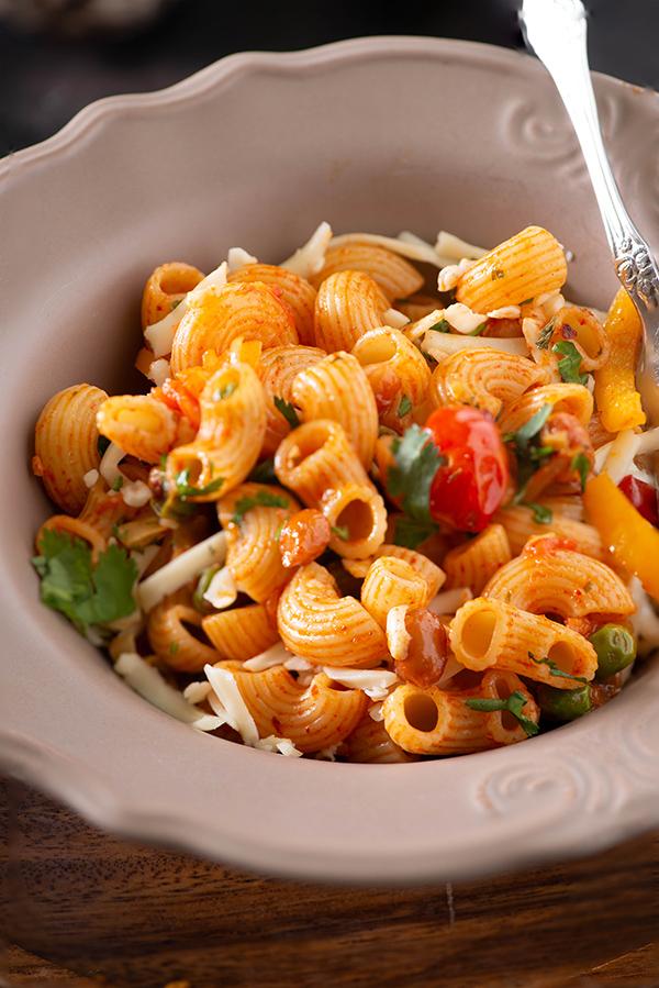 How to make pasta - Veg Macaroni recipe