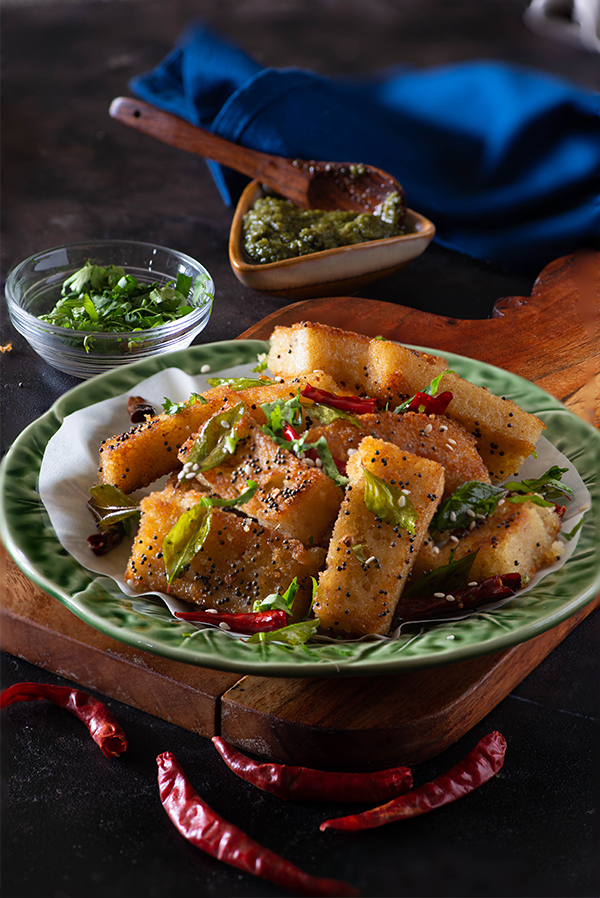 Sooji Sticks Dhokla