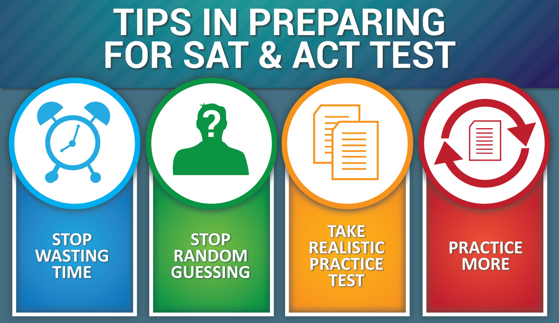 Tips In Preparing For Sat Amp Act Test Teachers To Go Online Education Platform