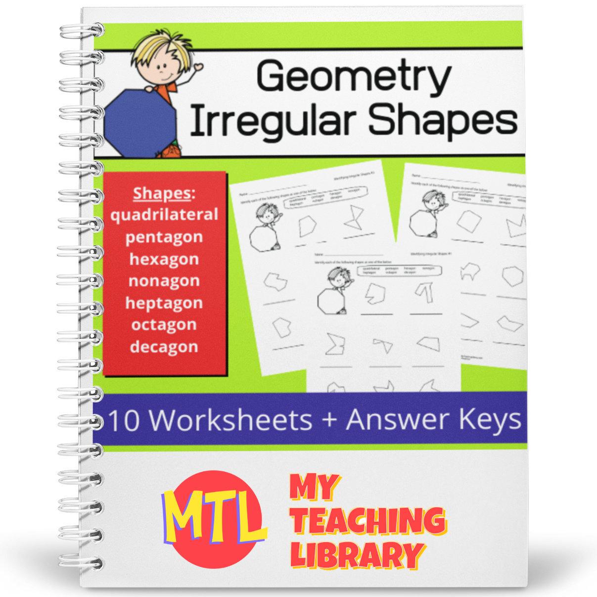 Irregular Shapes Geometry