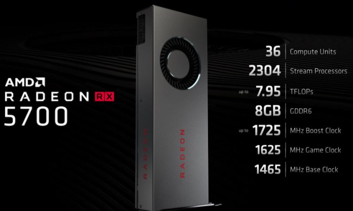 Radeon RX 5700 feature