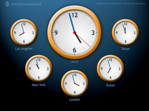 The Best Collection of Free Clock Screensavers - Part 2