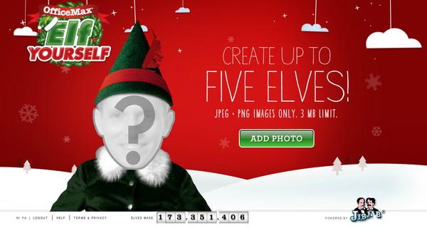 Create Dancing Elf Christmas Video Greeting Card With Elf
