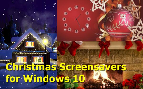 free christmas screensavers for windows 10