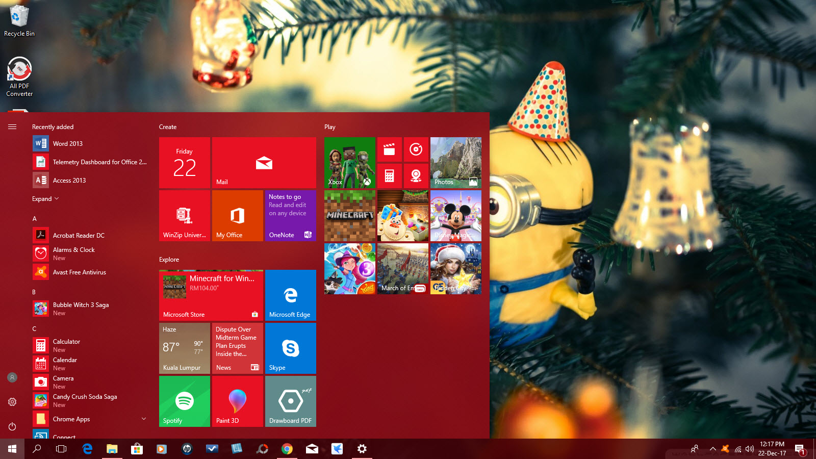 How To Create Your Own Windows 10 Christmas Theme