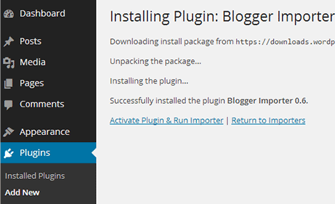 How To Install Importer Plugin
