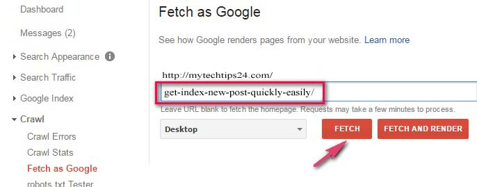 How to Get Index New Post Quickly and Easily