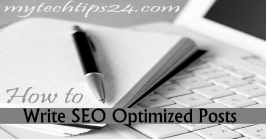 How to Write SEO Optimized Blog Post on WordPress