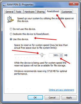 How to Use Pendrive as RAM in Windows 10
