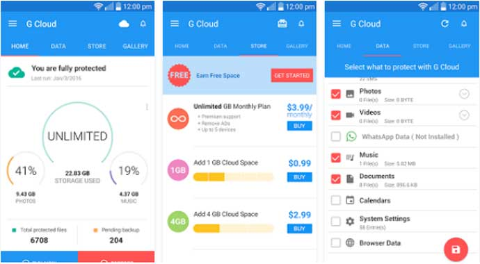 Top Free Best Cloud Storage App for Android