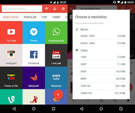 Best Free YouTube Video Downloader Apps for Android 2018