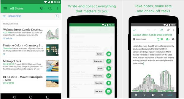 Best Notepad App for Android 2019 Smartphone